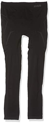 Jako Kinder Long Tight Comfort , Schwarz (08 Black) , 140/152