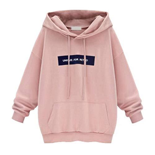 Sweatshirt Damen SUNNSEAN Frauen Fledermaus Lange Ärmel Pullover Hoodie Stilvolle Kleidung...