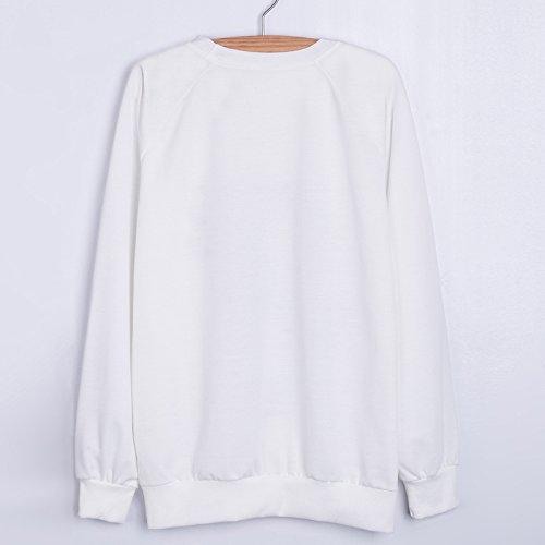 YICHUN Femme Fille Tops T-Shirts Manche Longue Tee-Shirts Camisole Fin Sweat-shirts Pulls Sweaters Sweats Blouse Tunic Déshabillé 2#