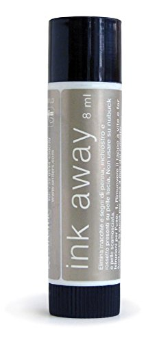 Leather Master Ink Away Stift/Kugelschreiber Entferner für Leder 8 ml (Leather Master Protection Cream)