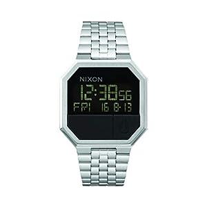 Nixon Unisex Digital Quarz Uhr mit Edelstahl Armband A158000-00