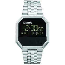 Nixon Reloj Unisex de Digital con Correa en Acero Inoxidable A158-000-00