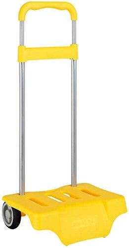 Carrello portamochilas giallo