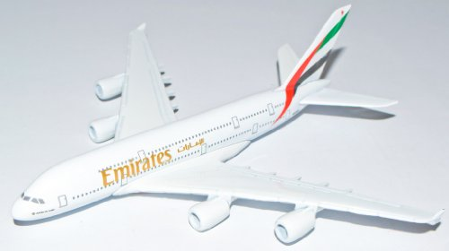 hispuk-modellino-di-airbus-emirates-a380-in-metallo-16-cm