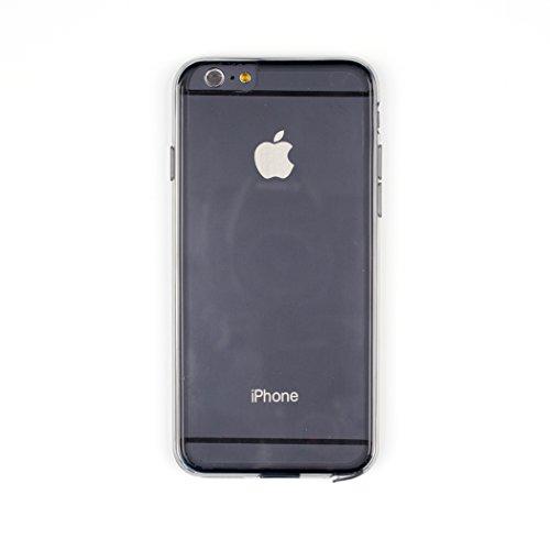 Aiino Jellies Coque Housse Etui Coque Protection pour Smartphone Apple iPhone noir