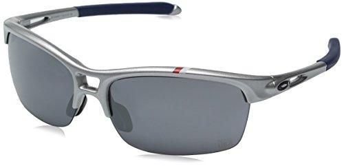 Oakley Herren Rpm Squared 920517 63 Sonnenbrille, Weiß (White/Light Azure),