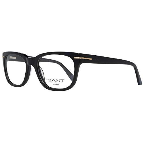 GANT Damen Brille Ga4058 001 52 Brillengestelle, Schwarz,