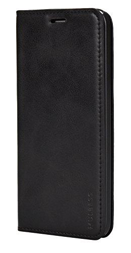 Mulbess Ledertasche im Ständer Book Case für Asus ZenFone 2 Laser ZE500KG / ZE500KL (5,0 Zoll) Tasche Hülle Leder Etui,Schwarz