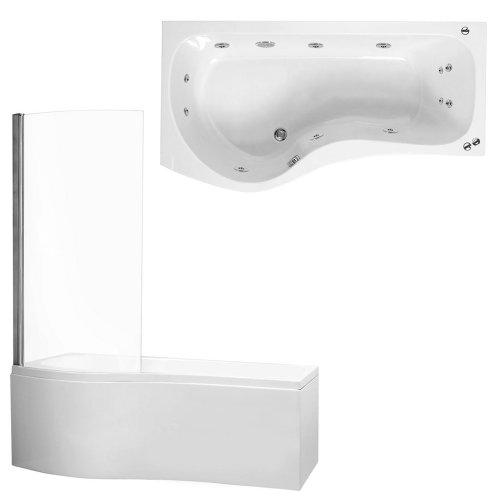 new-trueshopping-p-shaped-1675-x-850-luxury-bathroom-shower-enclosure-bath-with-6-jet-aquaspa-left