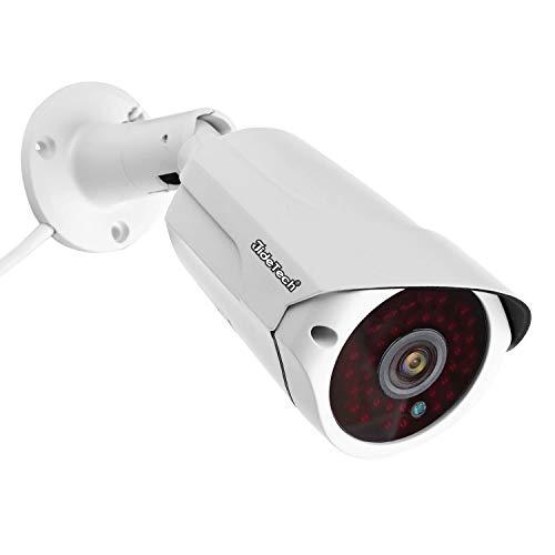 Sicherheits-IP-Kamera 1080P, POE-Überwachungskamera (Power Over Ethernet), Bewegungserkennungsalarm, wasserdichtes IP66-Infrarot-Nachtsichtgerät 65FT / 20m