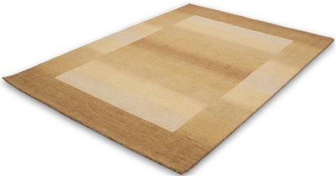 Lalee  347162260  Designer Teppich / Muster : Gabbeh / Handarbeit / Wolle / Beige / Grösse : 70 x 140 cm