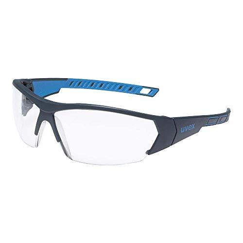 Uvex I-Works Schutzbrille - Suprav. Excellence - Schw.-Blau/Transparent