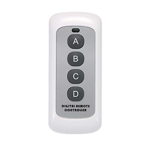 SONOFF Wireless Remote Control Switch, 433MHz RF Sender 4 Taste Schlüssel Fernbedienung Schalter für Smart Home -