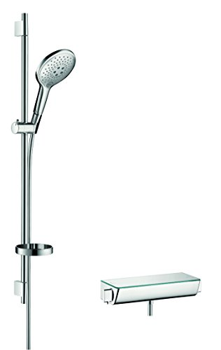 Preisvergleich Produktbild Hansgrohe Set Raindance Ecostat Select Combi für Brause, 0.90 m, verchromt, 27037000