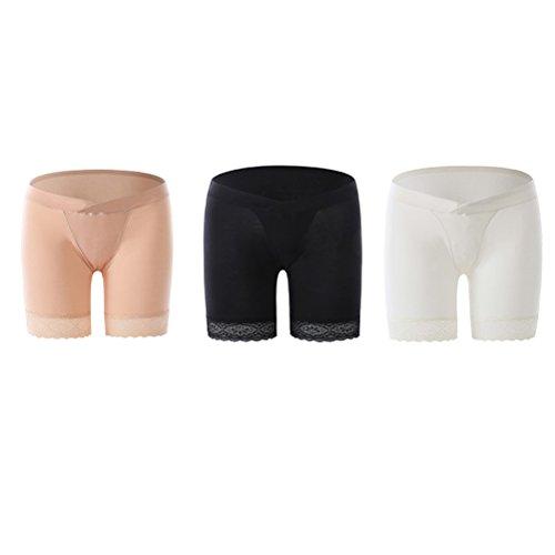 Zhhlinyuan 3pcs Mode Women's Damenunterwäsche Fashion Briefs Pregnancy Knickers Safety Panties Care Belly Boyshort Maternity Lingerie & Underwear - Womens Fashion-brief