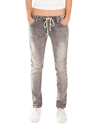 Fraternel Damen Jeans Hose Relaxed Loose fit Grau XXL / 44 - W34