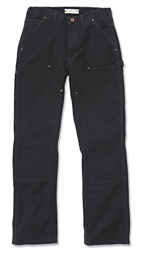 Carhartt Hose Double Front Work EB136, Color:midnight;Größe:w 33 / l 30 Black