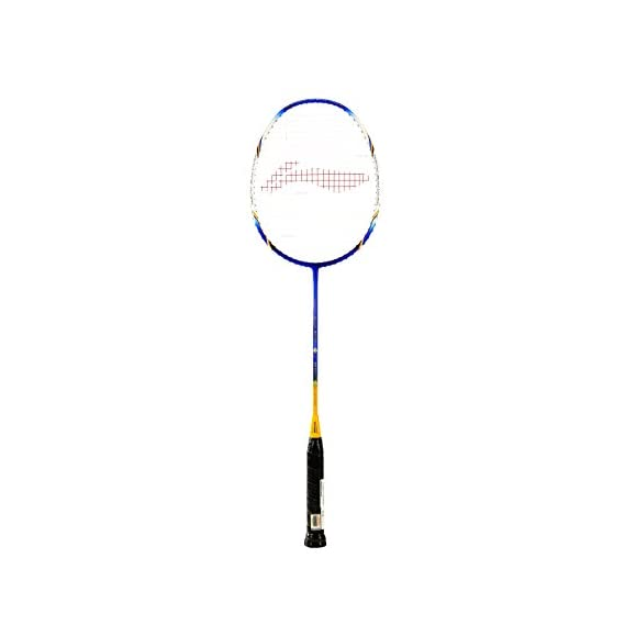 Li-Ning Super Series SS-68 III Badminton Racquet (Silver/Yellow/Blue)