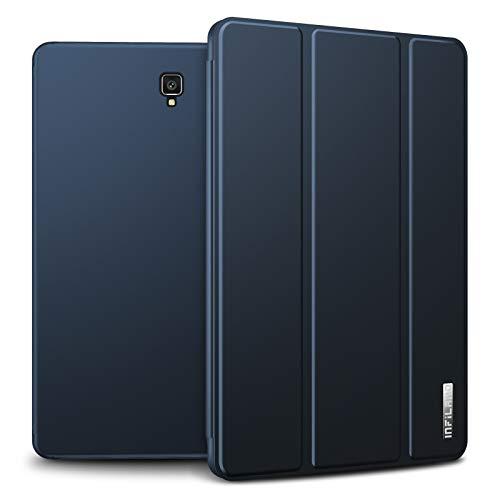 Infiland Samsung Galaxy Tab S4 2018 Custodia,Ultrasottile Tri-Fold Case per Samsung Galaxy Tab S4 10.5 Pollice 2018 (T830/T835)(Auto Sonno/Veglia,con Protettivo Portapenne),Marina Militare