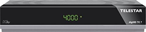 TELESTAR digiHD TC 7 HDTV Kabel Receiver (HDMI, Scart, USB, Aufnahmefunktion, LAN) spacegrau