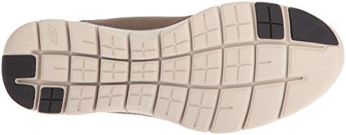 Skechers Flex Advantage 2.0, Scarpe da Ginnastica Alte Uomo Marrone (Chocolate)