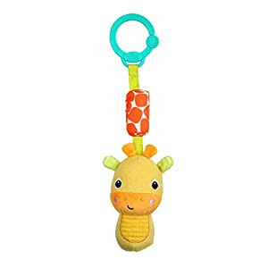 Bright Starts- peluche, Color yellow (Kids2 12342)