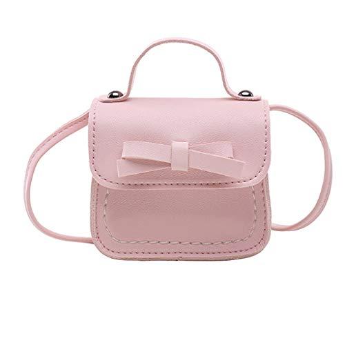 DQANIU  Kinder niedlich Prinzessin Messenger Bag Girl Bag Bow Baby Schultertasche Handtasche Tasche