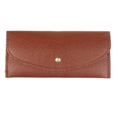 Umschlag Clutch Bag Wallet Damen Leder Schnalle Fashion Design Wallet Mobile Wallet Geldbörse 10x19cm 4 -