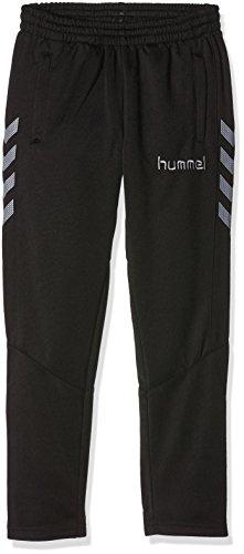 Hummel Jungen Sirius Poly Pants, Black/Tradewinds, 140, 37-124-2921