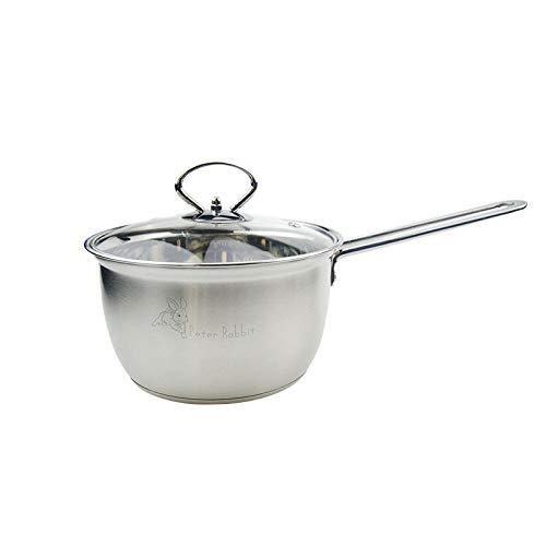 Faire Gourmet En Acier Inoxydable Pot Bouilli Frit Au Four Anti-Adhésif Ménage Camping Extérieur Général Fond Plat Facile À Nettoyer Pot