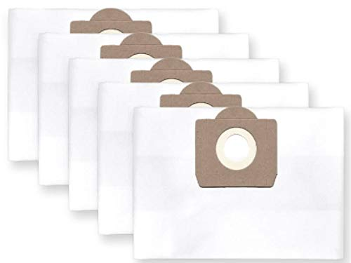 5x Staubbeutel Filtersack für Bosch PAS 11-21; 12-27, Gas 20 L (Pas-scheibe)