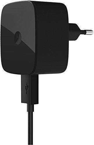 Motorola TurboCharger Caricabatterie rapido (15 Watt), Nero