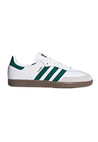 best service d8084 cdc31 Adidas Samba OG, Zapatos de Cordones Derby para Hombre, (White FtwwhtCgreen