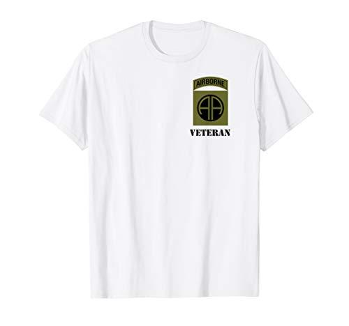 82nd Airborne Shirt - OCP Patch Schwarz