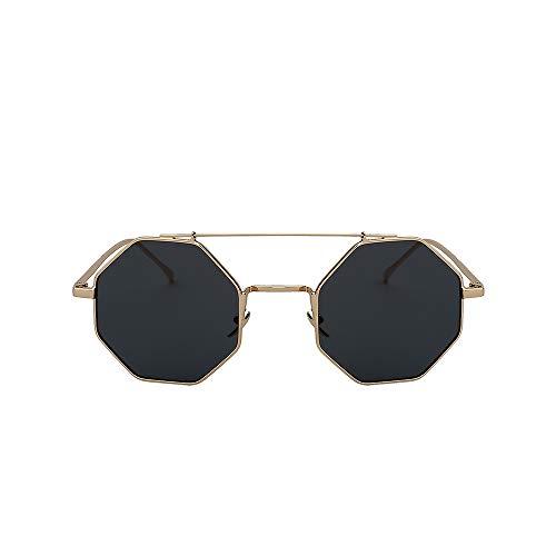 WJFDSGYG Multi Shades Suglasses Männer Frauen Design Mode Brille Spiegel Objektiv Sonnenbrille Uv400