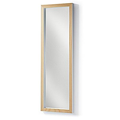 Kavehome-Espejo-Enzo-marco-madera-blanco-148×48