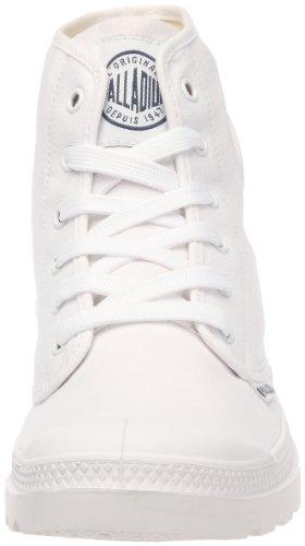 Palladium Pampa HI Blanc, Scarpe unisex adulto Bianco (Blanc (924 White/White))