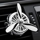 #6: Car Fragnance Diffuser, Silver Tone Fan Shaped Car Vent Air Freshener Perfume Diffuser for Bad Odour and Smoke in Cars by CarFrill