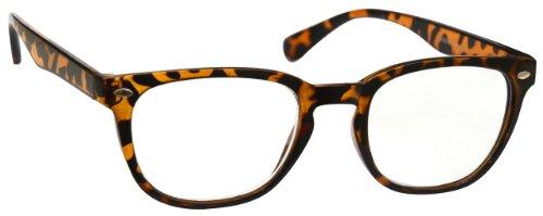Braune Schildpatt Kurzsichtig Fernbrille Für Kurzsichtigkeit Gregory Peck Stil Herren Frauen M14-2T...