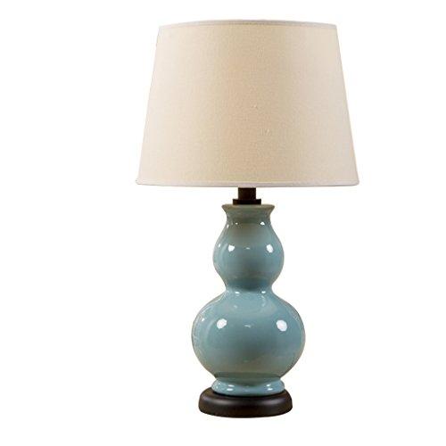 Home mall- American Country moderna tavolo in ceramica Lampade zucca caldo Soggiorno Camera da letto Lampada da comodino Lampada