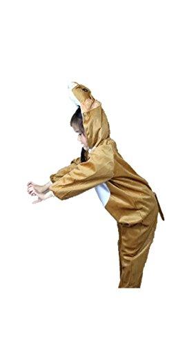 Tragen Kostüm Strampelanzug - Matissa Kinder Tierkostüme Jungen Mädchen Unisex Kostüm Outfit Cosplay Kinder Strampelanzug (Loewe, XL (Für Kinder von 120 bis 140 cm))