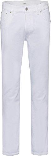 Brax Herren Slim Jeans White