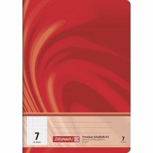 Brunnen 25 x Schulheft Young Vivendi A5 Lineatur 7 90 g/qm 16 Blatt