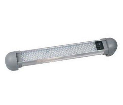 BOAT YACHT MARINE 1W INTERIOR ROTATABLE 10 LED STRIP LIGHT 55LM 12V/24V DC