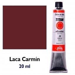 ÓLEO LACA CARMÍN TITAN Extrafino 6 - 20ml. Nº 40