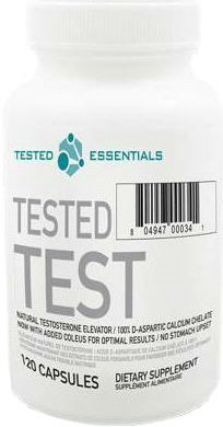 Tested Test booster nitric oxide - 120 caps by Tested Nutrition mm from Tested Nutrition
