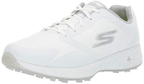 Skechers Damen Relaxed Fit Golf Shoe Eagle, Bequeme Passform, Golfschuh, weiß, 39 EU