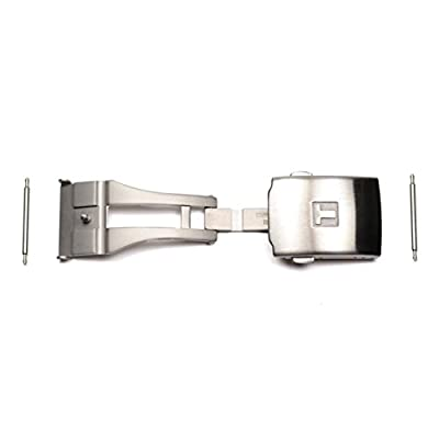 Hebilla desplegable acero inoxidable para correas Tissot T640015934