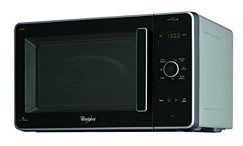 Micro-ondes Whirlpool JC 216 SL - 2100 W - Chambre de cuisson 30 L - Système 3D - En acier inoxydable.