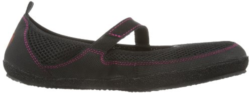 Sole Runner Wish, Ballerine donna nero (Schwarz (Black/Purple 08))